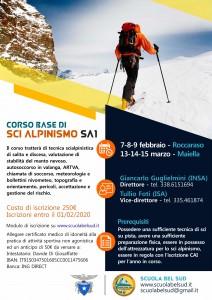 Corso SA1 Corso Base di SCi Alpinismo